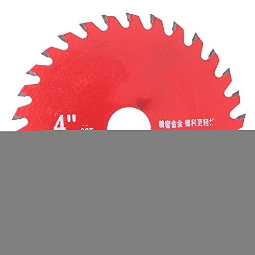 Hoja de sierra circular de carburo, Herrajes para discos de corte de acero aleado para carpintería, Hojas de sierra afiladas de aleación, Resistencia