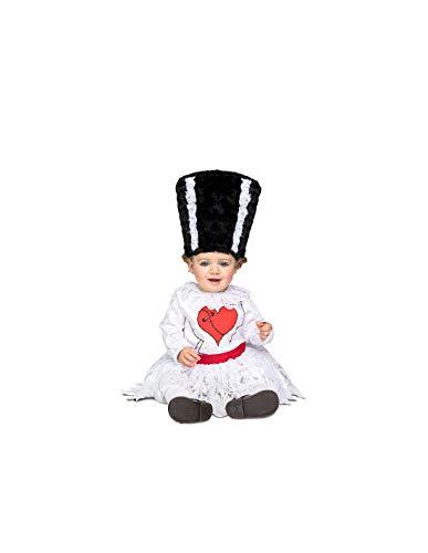 DISBACANAL Disfraz Novia de Frankie para bebé - -, 12-24 Meses