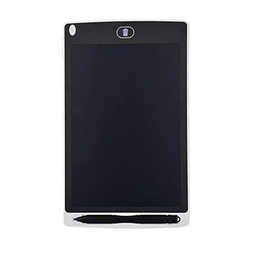 LLYX 8,5-Zoll-Schreibzeichnungstablett Notizblock Digitale LCD-Grafikkarte Handschrift Bulletin Board für Bildungsunternehmen, Weiß, China