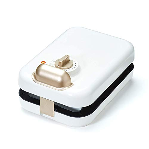 L&B-MR 3-In-1 Sandwich Maker, Toaster, Breakfast Maker, Waffle Maker, Non-Stick Coating, Easy To Clean, Automatic Power Off, Double-Sided Heating,A