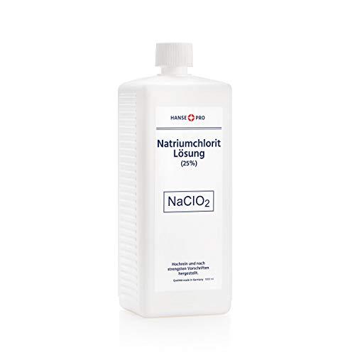 HANSE PRO Natriumchlorit Lösung (25%), 1 x 1000 ml, nach Original-Rezeptur, deutsches Qualitätsprodukt