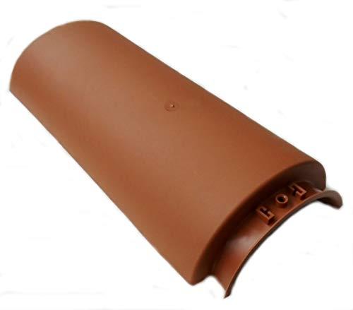 Colmo universale in plastica per tegole e coppi - tegola tetto coppo cotto (Escluse viti di fissaggio)