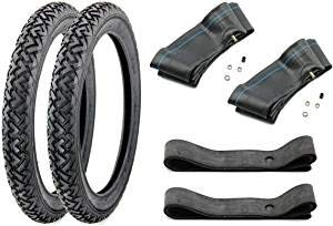 SET 2 Reifen VRM-087 2,25 x 16 Zoll - 2x Schlauch - 2x Felgenband