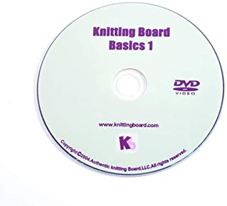 Weave and Hook Knitting Board Basic I How-To DVD Instruction