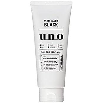 SHISEIDO UNO WHIP WASH BLACK 130g(Face Wash)