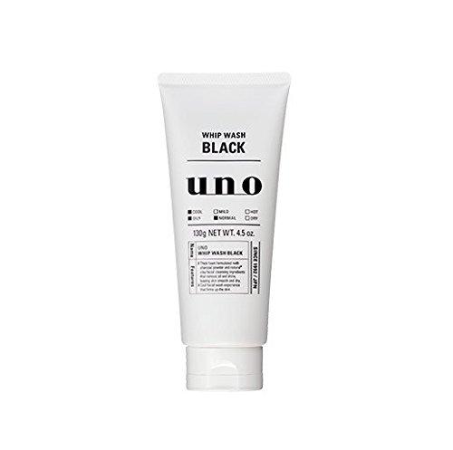 Uno Shiseido Fouet Black Wash 130G (Face Wash)