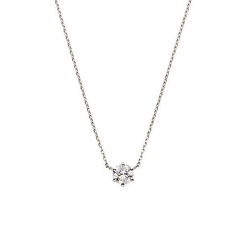 [VAヴァンドーム青山] VA VENDOME AOYAMA PT900 ダイヤモンド 0.25ct 極細チェーン プラチナ ネックレス GPAN007440DI