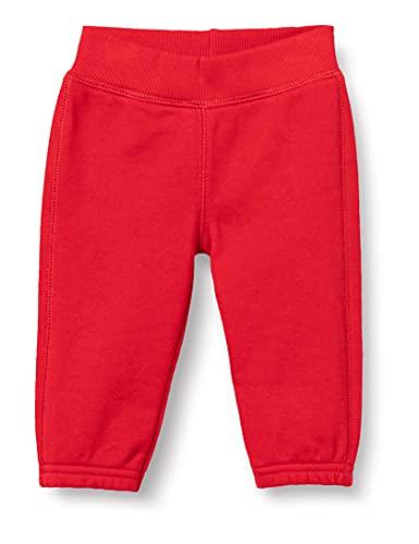 United Colors of Benetton Pantalone 3j70mf238 Pantaln, Red 015, 68 cm para Bebés