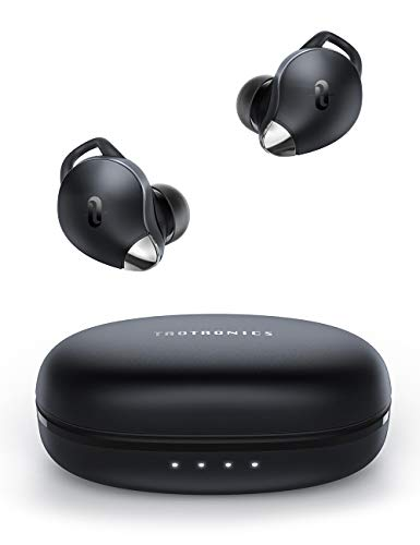 True Wireless Earbuds TaoTronics SoundLiberty 79 Smart AI Noise Reduction Technology for Clear Calls, Single/Twin Mode, 30H Playtime, USB Type C, IPX8 Waterproof, with Charging Case