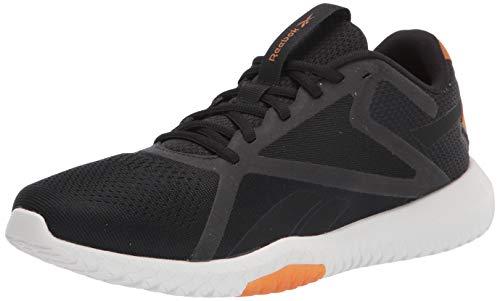 Reebok Men's Flexagon Force 2 Training Shoes Cross Trainer, Black/Rich Ochre/True Grey, 7