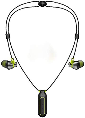 Mifo i2 Wireless Headphones with Built in Mp3 Player Neckband Waterproof Handsfree Running Sport Bluetooth Headset with Memory (New Version 8g Memory)
