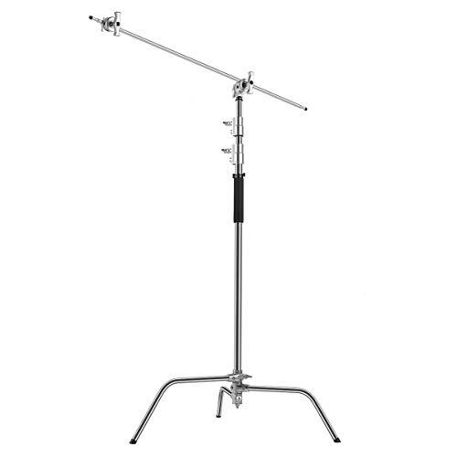 GVM C330 Turtle-Base C-Stand & Grip Arm Kit (10.5') for Reflectors, Softboxes, Monolights, Umbrellas