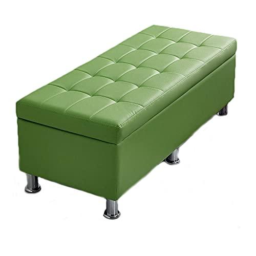 ZAIHW Taburete de almacenamiento con tapa abatible, taburete de madera, funda de cama, caja de estar, pasillo, 120 cm