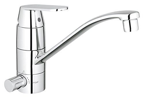 GROHE Eurosmart Cosmopolitan | Küchenarmatur - Einhand-Spültischbatterie, flacher Auslauf | chrom | 31161000