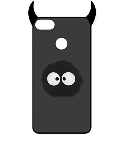 Sunrive Kompatibel mit Nubia Z11 Mini Hülle Silikon, Handyhülle matt Schutzhülle Etui 3D Hülle Backcover (A1 Monster) MEHRWEG+Gratis Universal Eingabestift