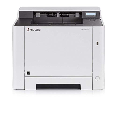 Kyocera Klimaschutz-System Ecosys P5021cdn Laserdrucker. 21 Seiten pro Minute. Farblaserdrucker inkl. Mobile-Print-Unterstützung. Amazon Dash Replenishment-Kompatibel