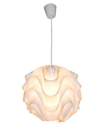 KUSHIMAX 『Wavy』 pendant ウェーブ ペンダントランプ エコポリプロピレンペンダントライト 北欧デザイン照明 クラシック作品 (32x32)