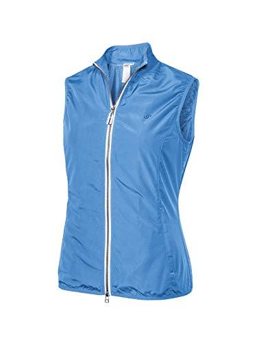 Joy Sportswear Klarissa Sportweste für Damen mit ärmellosem Schnitt für Running, Fitness und Freizeit, gefertigt aus Microfiber und Elasthan 48, Azur