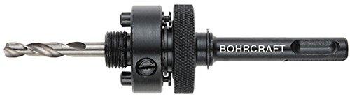 Bohrcraft gatenzaag-opnameschacht SDS-plus inclusief boren, AS 6 voor zagen 32-210 mm in verpakking, 1 stuk, 19100900006