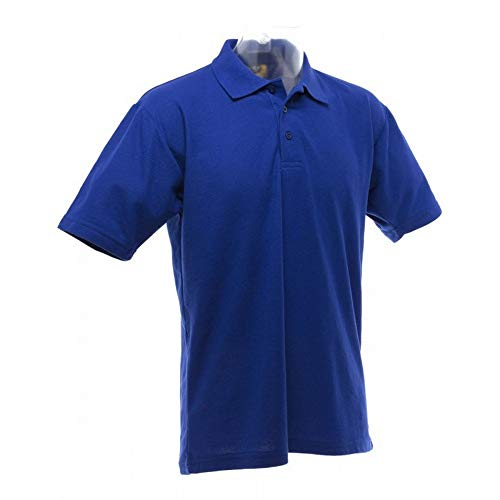 Ultimate Clothing Collection Polo uni à Manches Courtes UCC pour Homme (4XL) (Bleu Royal)