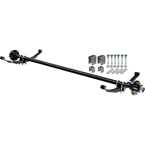 Ultra-Tow 2000-Lb. Capacity Complete Axle Kit - 60in. Hubface, 48in. Spring Center, 5-Stud Pattern, 4.5in. Hubs