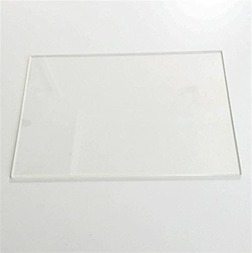 VIENDADPOW 6'' x 9'' (150mm x 230mm) Flat Borosilicate Glass Plate/Bed for DIY Flashforge &Replicator 3D Printer (Size : 3MM Thickness)