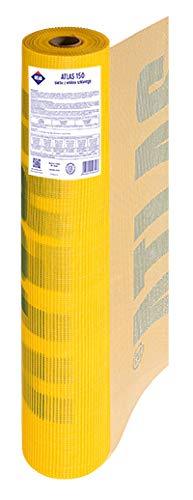Apollo Baustoffe Atlas Armierungsgewebe/Glasfasergewebe/Putzgewebe/Fassade-165gr/m² - 10m²/Rolle 10 m²