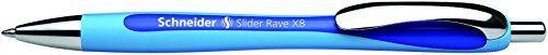 Stride 132503 Schneider Rave XB Retractable Ballpoint Pen 1.4mm Blue Ink