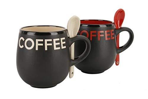 Coffee' Mug & Spoon