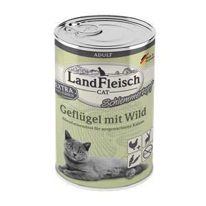 Landfleisch Adult Schlemmertopf Geflügel&Wild | 6X 400g Katzenfutter