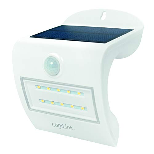 LogiLink LED006 - Solar LED-licht met Pir Sensor (bewegingsmelder), wit