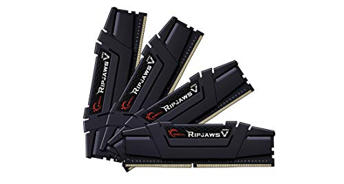 G.Skill Ripjaws V F4 3600C16Q 64GVKC Module de mémoire 64 Go 4 x 16 Go DDR4 3600 MHz