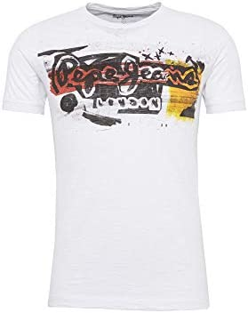 Pepe Jeans Camiseta Manga Corta Hombre Estampada