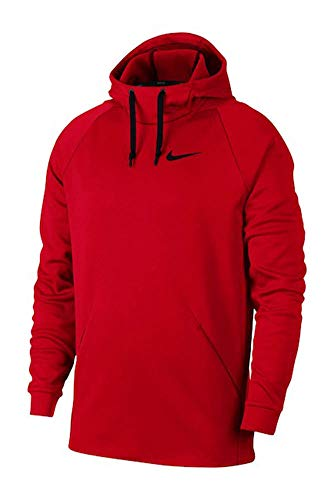 Nike Men's Therma Training Hoodie University Red/Black, Size X-Large