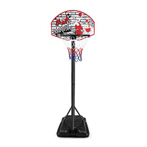 Canasta Baloncesto Aro De Baloncesto Portátil Al Aire Libre, Soporte De Baloncesto De Pie De 153-270 Cm Ajustable En Altura, para Niños, Jóvenes Y Adultos (Color : Style2)