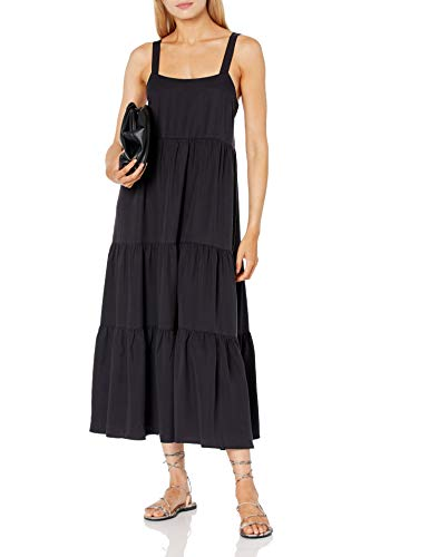 The Drop Women's Britt Tiered Maxi Tent Dress