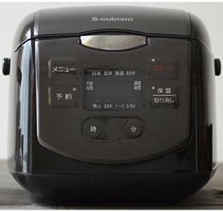 エスキュービズム 4合炊きマイコン式炊飯器 ブラック SCR-H40B エスキュービズム