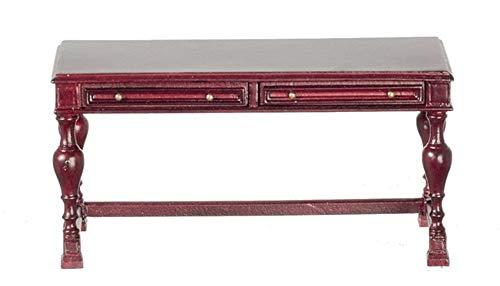 Melody Jane Puppenhaus Mahagoni Schreibtisch Konsole Tisch Miniatur JBM Möbel
