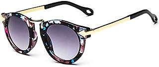 Retro Fashion Special Kids Metal Frame gradient Sunglasses 731-1