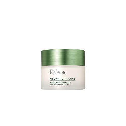 BABOR CLEANFORMANCE Moisture Glow Day Cream, feuchtigkeitsspendend, mit nachhaltigem Baumrinden-Extrakt, 1 x 50 ml
