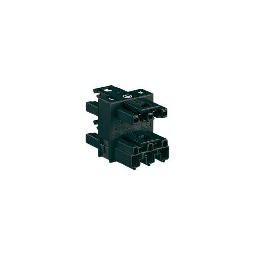 WAGO 770–6073P Black Terminal Block–Terminal Blocks (30mm, 46mm, 32,7mm, 250V)