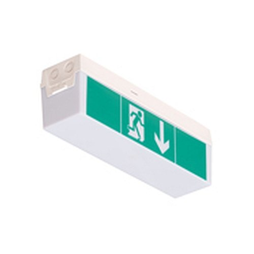 Sicherheits-/Rettungsleuchte C-LUX STANDARD LED - Einzelbatterie Dauer-/Bereitschaftsschaltung, Betriebsdauer 8h Schutzart IP 54, Schutzklasse II, Leuchtmittel: 24 x LED