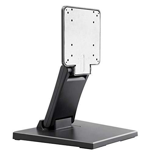 VSG 92001 Halterung für Touchscreens POS oder PC Monitore – Stabiler Display Ständer, Flexibel verstellbar, VESA, Metall, 10 bis 22 Zoll - Schwarz