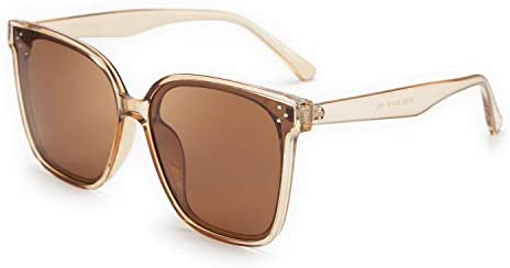 FEISEDY Retro Oversized Cateye Polarized Sunglasses Women Men Minimalist Style B2600 product image
