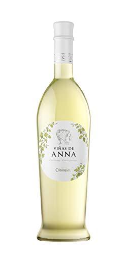 Viñas de Anna Chardonnay- Vino blanco semidulce - Chardonnay, Gewürztraminer -75cl