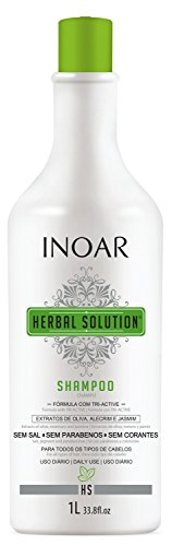 Herbal Solution Shampoo Suave 1 litro, INOAR