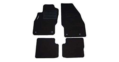 carmats compatibili con tappetini Corsa D in Velluto agugliato Serie D-Battitacco - 4 Fix