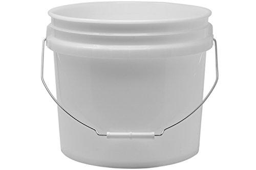 Grit Guard Wash Buckets in 3,5 Gallonen oder 5 Gallonen Größen, passend für Grit Guard Eimereinsatz, Grit Guard Washboard sowie Gamma Seal Lids (3.5 Gallonen t)