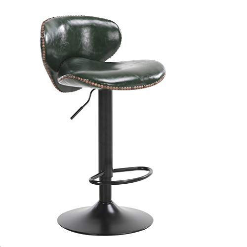 Interieur gebruik barkruk stoel kruk barkruk rugleuning hoge kruk eettafelstoel lounge chair barkruk groen
