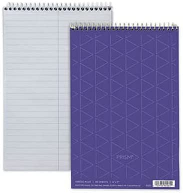 TOPS - Spiral Steno Notebook Gregg Direct sale of manufacturer Rule x Orchid 80-Sh 6 At the price of surprise 9 4